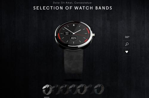 smartwatch moto 360 se cho phep thay day deo - 1