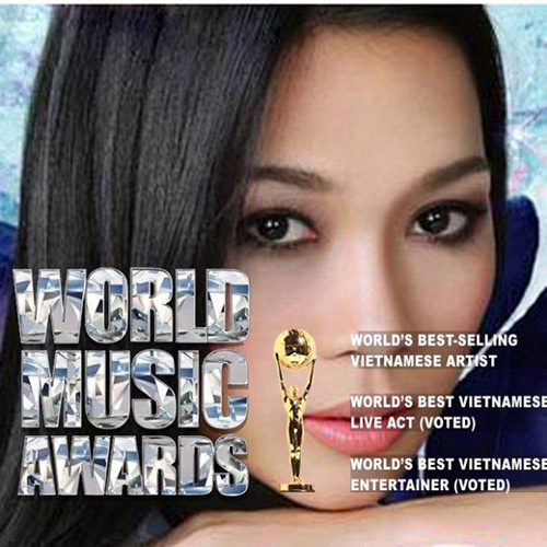 "my tam lap hattrick tai ""world music awards 2014"" - 1"