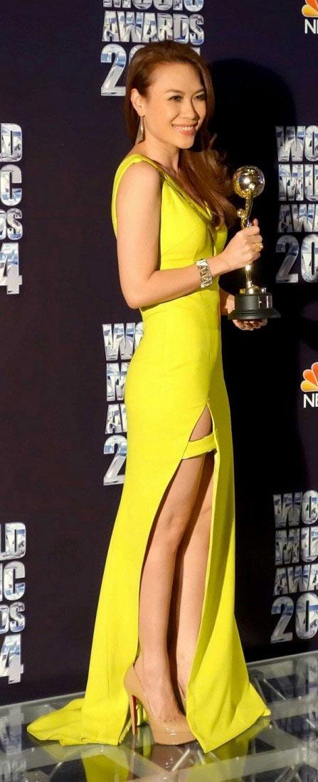 "my tam lap hattrick tai ""world music awards 2014"" - 2"