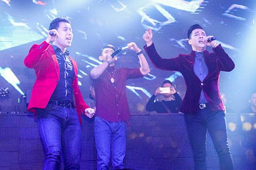 nathan lee banh bao, the men chap nhan huy show - 15