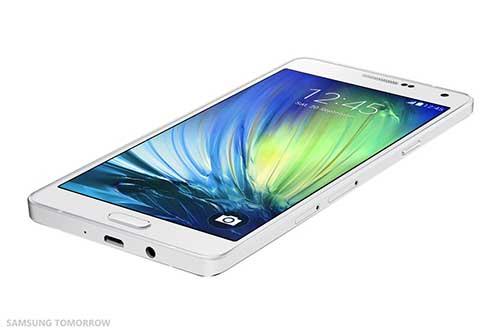 samsung ra mat galaxy a7: smartphone mong nhat cua hang - 4