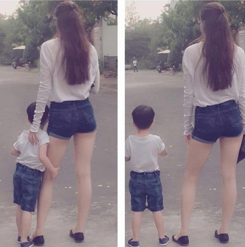tuyen tap quan jeans chat lu cua con trai ho ngoc ha - 17
