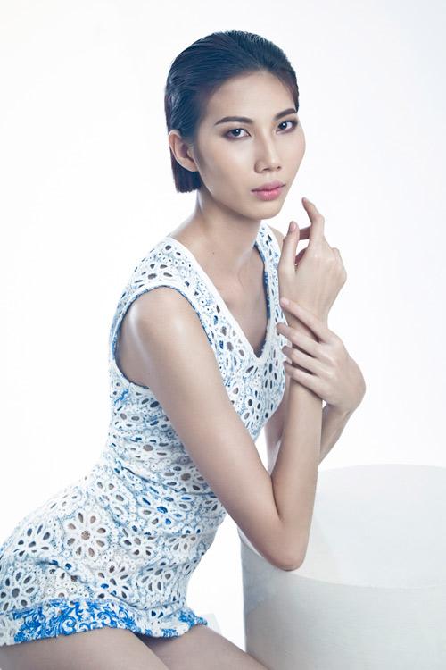 can sac, do tai top 5 vietnam's next top model - 8