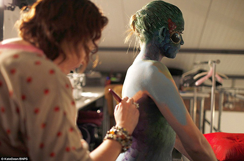 chiem nguong nhung tac pham body painting dep sung so - 8