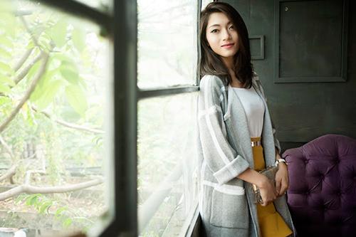 4 cách 'trị' chiếc áo cardigan dáng dài ương bướng-11