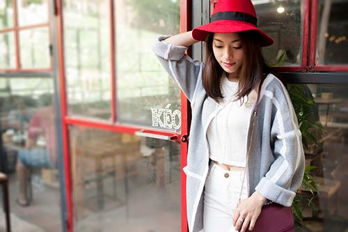 4 cách 'trị' chiếc áo cardigan dáng dài ương bướng-15