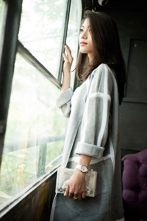4 cách 'trị' chiếc áo cardigan dáng dài ương bướng-7