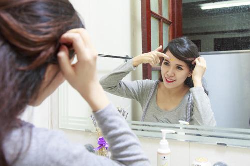 hotgirl mai tho: bai phuc vong eo 63 cm chi 15 ngay sau sinh - 5