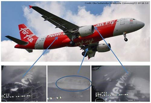 da tim thay than may bay airasia qz8501 duoi bien - 1