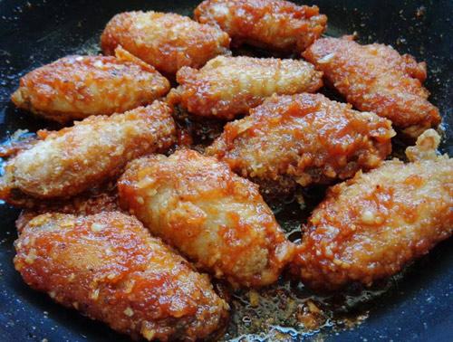 Cánh gà chiên sốt cà ngon cơm ngày lạnh-8