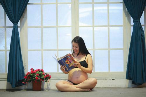"""Gặp mẹ bầu """"mỗi tháng chụp một bộ ảnh""""-6"""