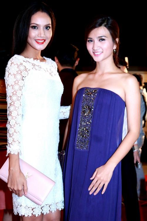 Trang Nhung khoe bụng bầu 7 tháng bên Mai Thu Huyền-16