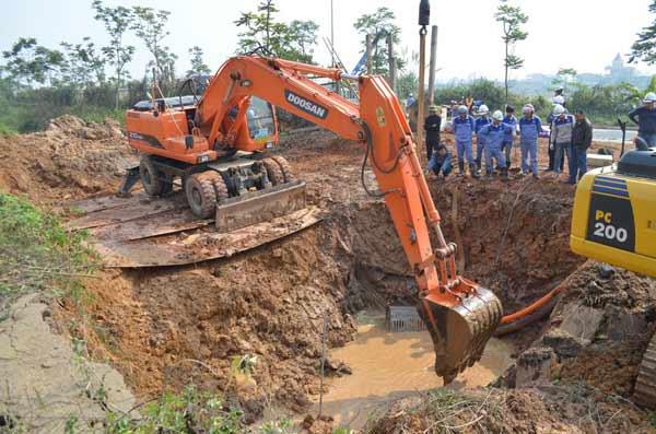 Lần thứ 10 vỡ đường ống: TGĐ Công ty nước sạch nói gì?-2