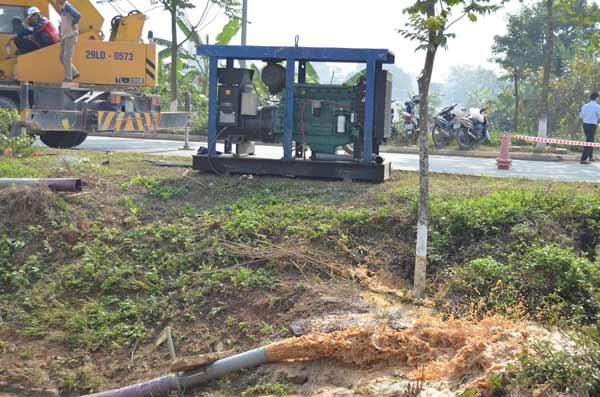 Lần thứ 10 vỡ đường ống: TGĐ Công ty nước sạch nói gì?-5