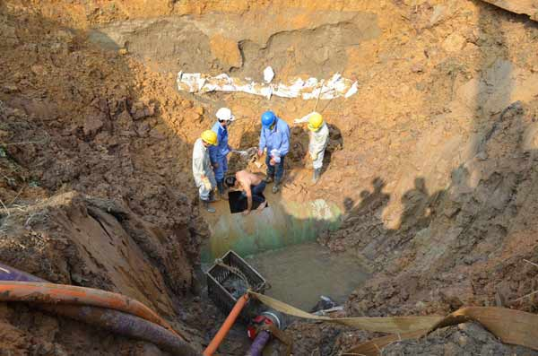 Lần thứ 10 vỡ đường ống: TGĐ Công ty nước sạch nói gì?-8