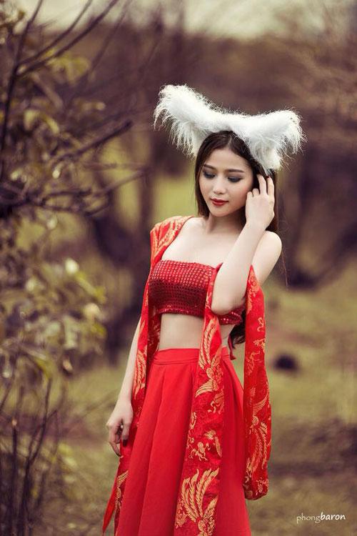 Cô gái Việt giảm 13kg trong 2 tháng để thành người mẫu-3