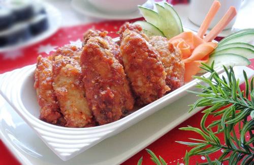 Cánh gà chiên sốt cà ngon cơm ngày lạnh-9