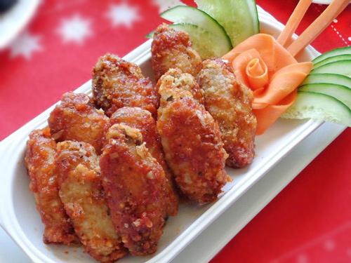 Cánh gà chiên sốt cà ngon cơm ngày lạnh-11