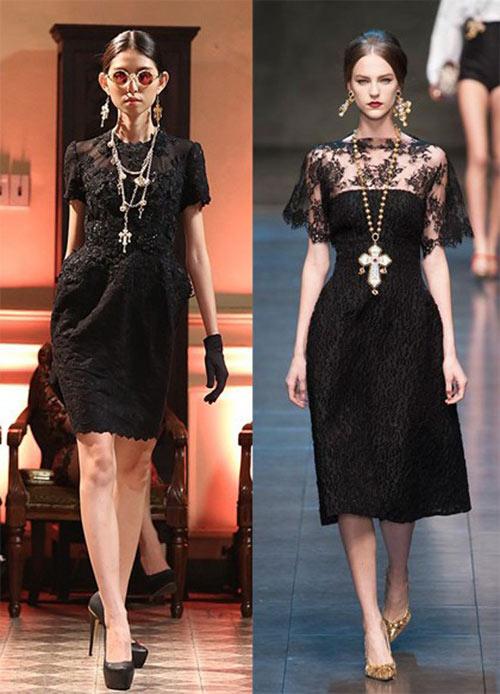 Sao Việt đua nhau học đòi xu hướng Dolce&Gabbana-1