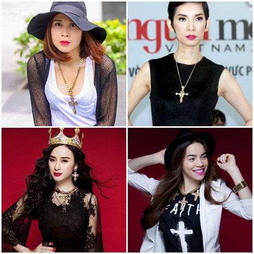 Sao Việt đua nhau học đòi xu hướng Dolce&Gabbana-12