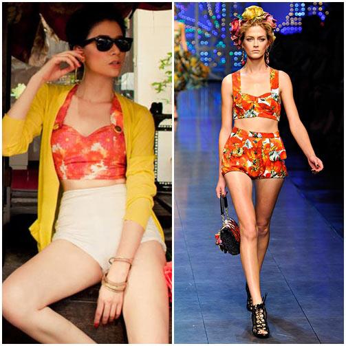 Sao Việt đua nhau học đòi xu hướng Dolce&Gabbana-14