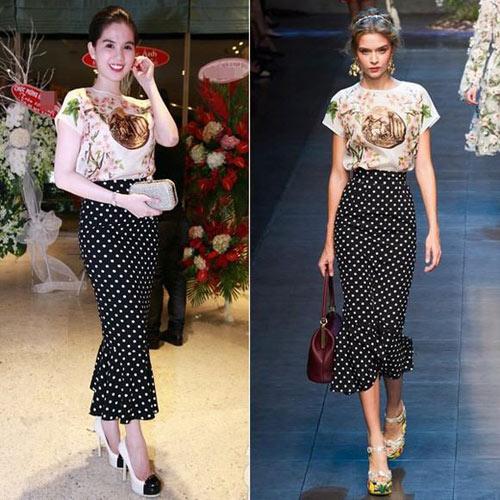 Sao Việt đua nhau học đòi xu hướng Dolce&Gabbana-4