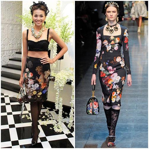 Sao Việt đua nhau học đòi xu hướng Dolce&Gabbana-5