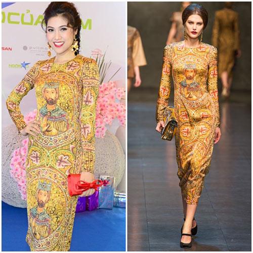 Sao Việt đua nhau học đòi xu hướng Dolce&Gabbana-6