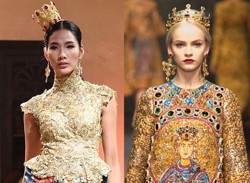 Sao Việt đua nhau học đòi xu hướng Dolce&Gabbana-2