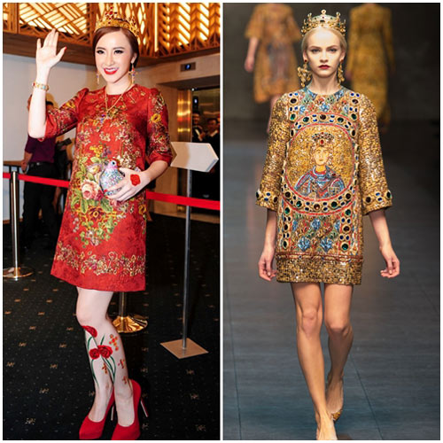 Sao Việt đua nhau học đòi xu hướng Dolce&Gabbana-8