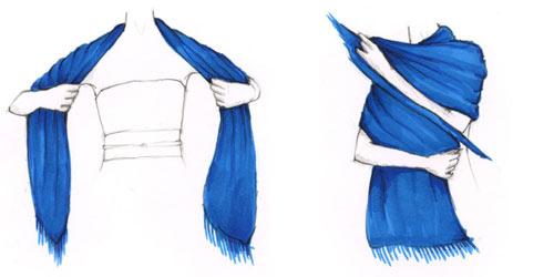 7 cách quàng khăn quyến rũ nhất mùa Đông này - 9