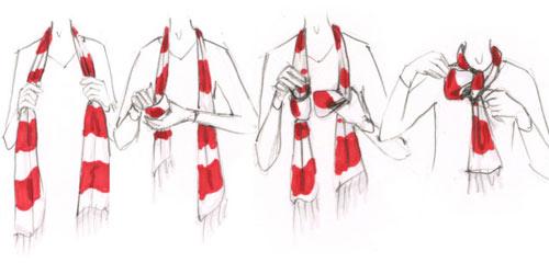 7 cách quàng khăn quyến rũ nhất mùa Đông này - 3