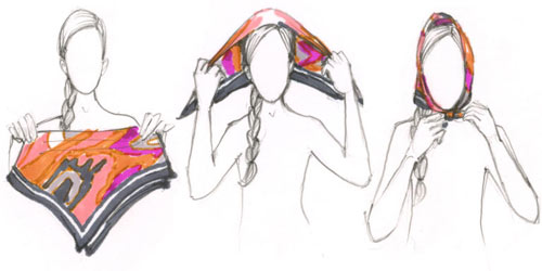 7 cách quàng khăn quyến rũ nhất mùa Đông này - 6