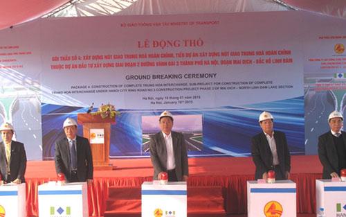 HN: Hơn 1.000 tỷ đồng xây hầm qua đại lộ Thăng Long-1
