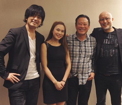 Mỹ Tâm hợp tác cùng ngôi sao guitar nổi tiếng của Nhật-1