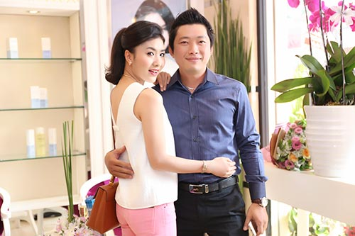 Mai Phương Thúy đẹp ngọt ngào đến chúc mừng Thanh Mai-16