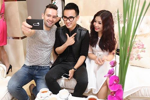 Mai Phương Thúy đẹp ngọt ngào đến chúc mừng Thanh Mai-14