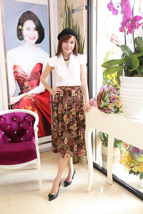Mai Phương Thúy đẹp ngọt ngào đến chúc mừng Thanh Mai-17