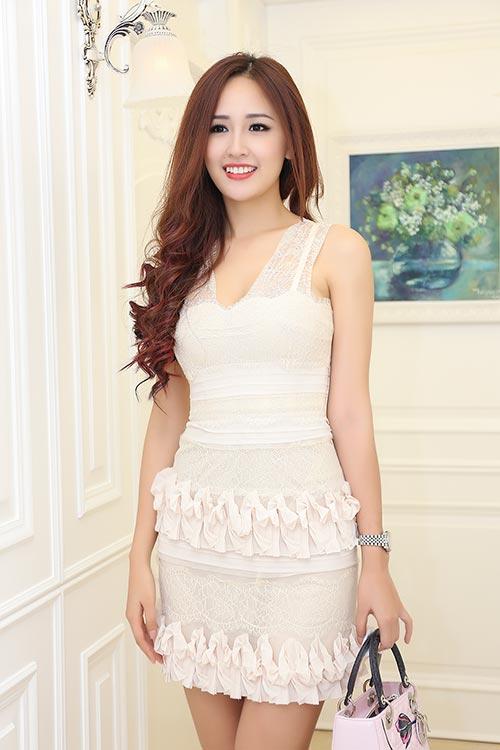 Mai Phương Thúy đẹp ngọt ngào đến chúc mừng Thanh Mai-2