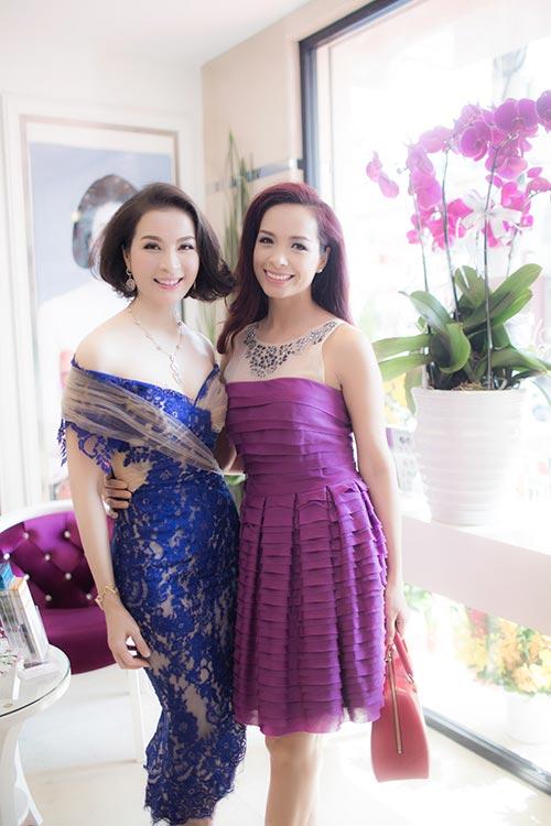Mai Phương Thúy đẹp ngọt ngào đến chúc mừng Thanh Mai-5