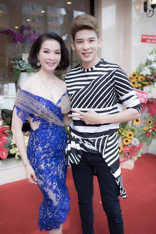 Mai Phương Thúy đẹp ngọt ngào đến chúc mừng Thanh Mai-6