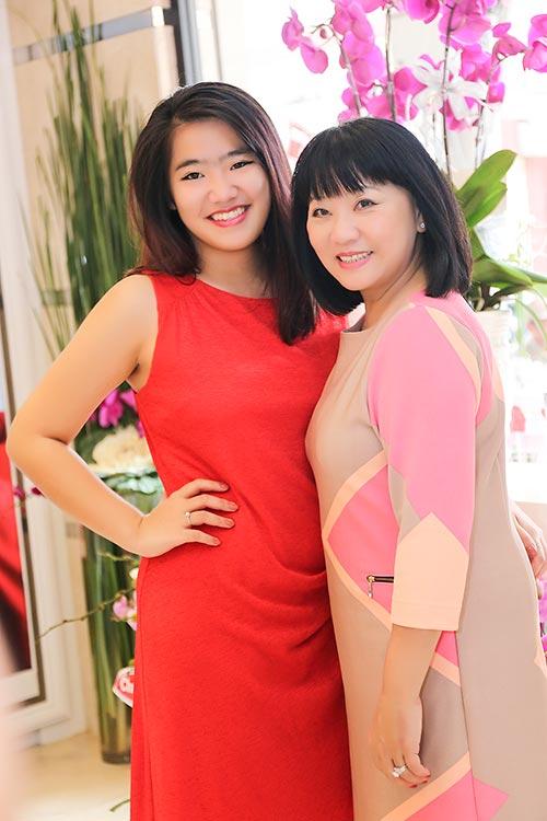Mai Phương Thúy đẹp ngọt ngào đến chúc mừng Thanh Mai-11