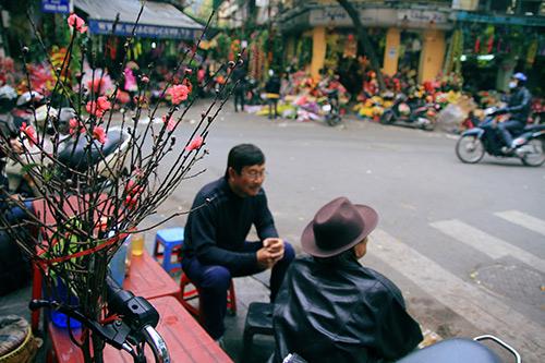 Ngắm chợ đào sớm trên phố Hàng Lược - 8
