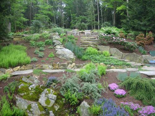 Vườn 4000m2 trăm hoa đua nở quanh năm ở New York-3