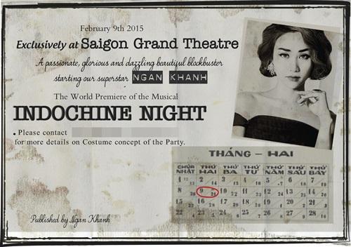 Thiệp cưới độc đáo của Ngân Khánh và chồng Việt kiều - 1