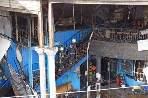 Cháy lớn ở Đài Loan, 6 lính cứu hỏa thiệt mạng-1