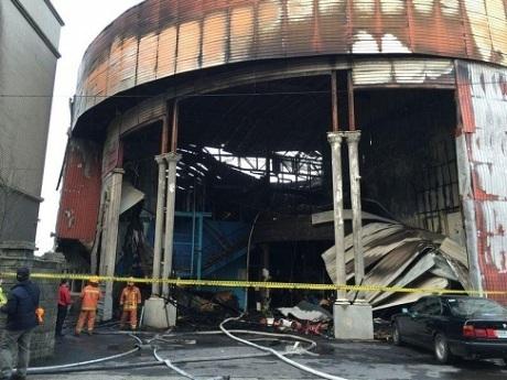 Cháy lớn ở Đài Loan, 6 lính cứu hỏa thiệt mạng-2