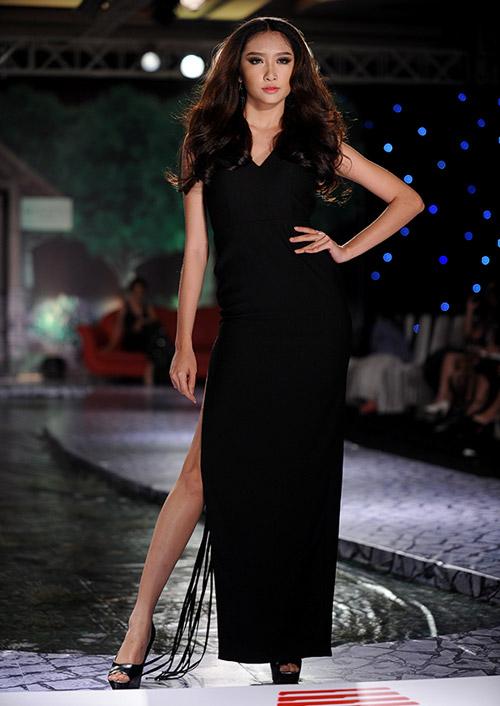 Váy dạ hội Việt đẹp và sang không kém hàng hiệu - 9