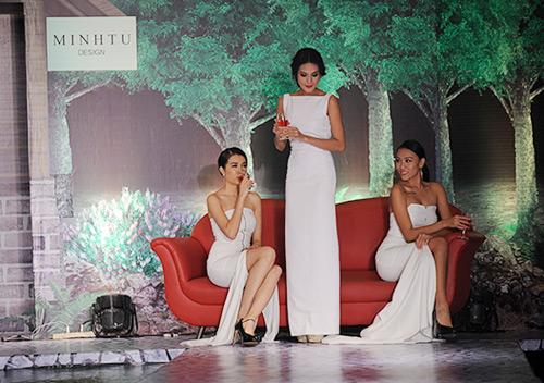 Váy dạ hội Việt đẹp và sang không kém hàng hiệu - 1