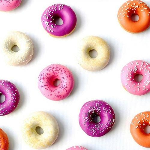 banh donut nuong nhieu mau dep mat - 10
